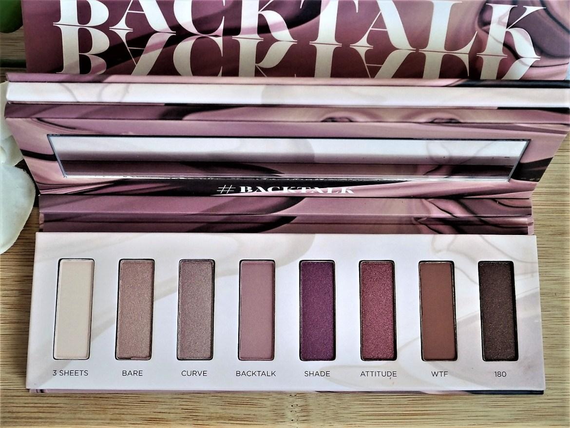 Revue collection Backtalk Urban Decay - La Petite Frenchie