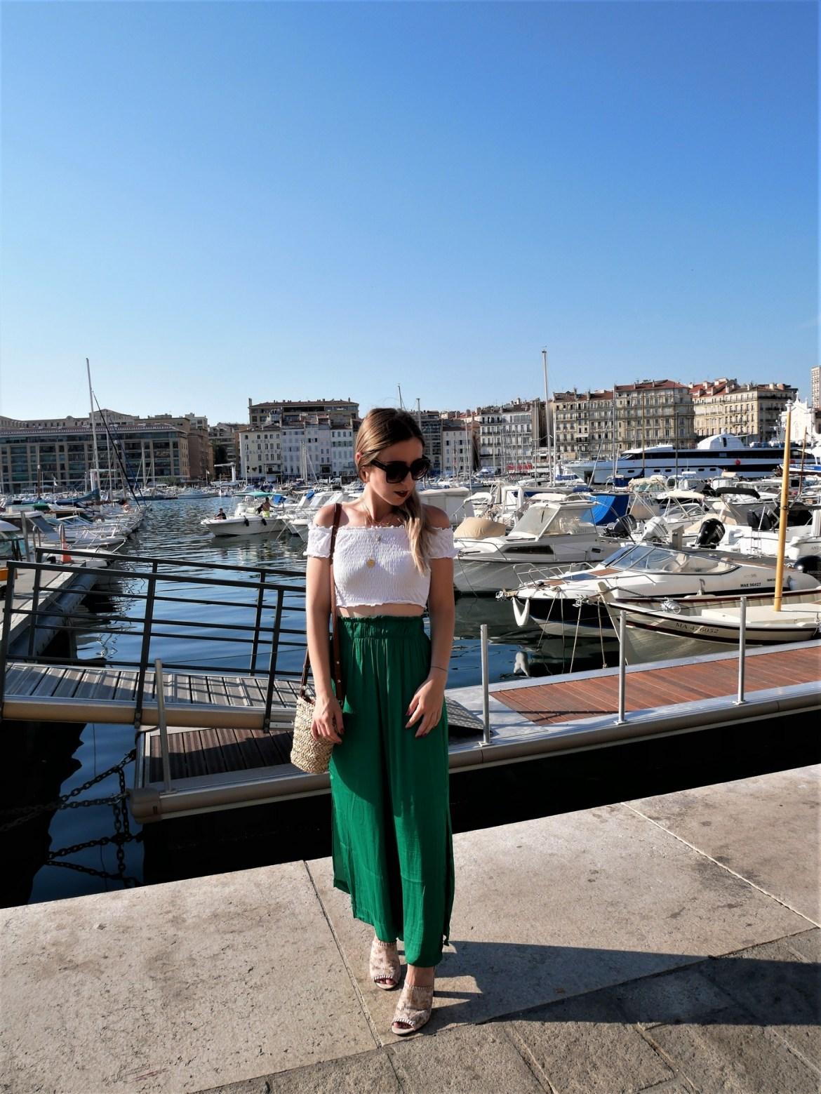 Look pantalon palazzo - La Petite Frenchie