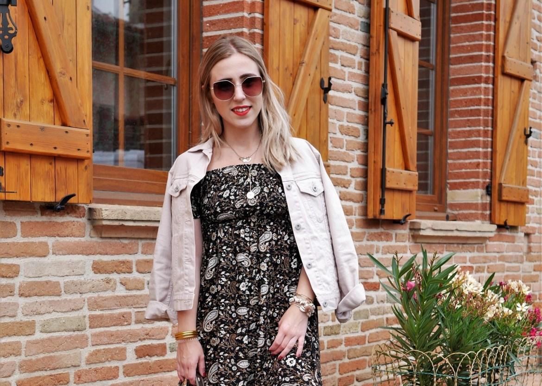 Look imprimé cachemire - La Petite Frenchie blog mode toulouse