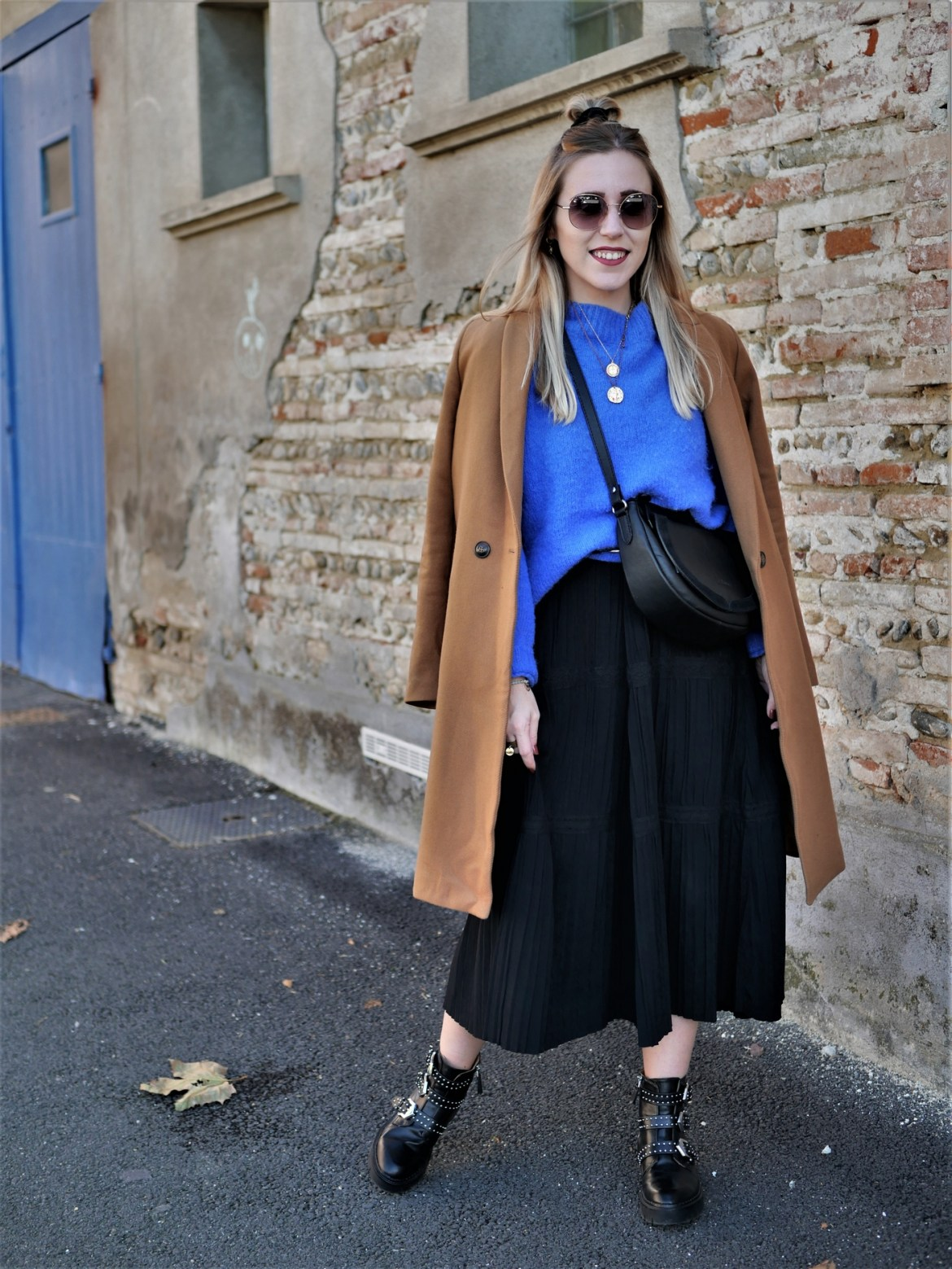 Look robe longue maille - La Petite Frenchie