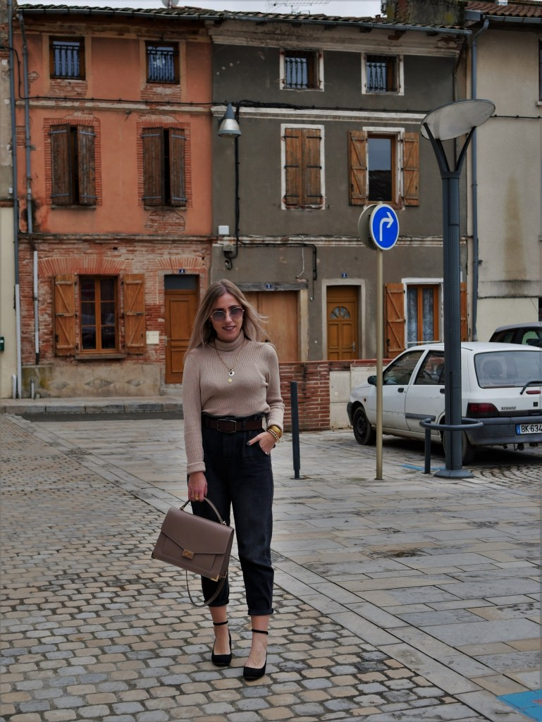 Look jean baggy - La Petite Frenchie