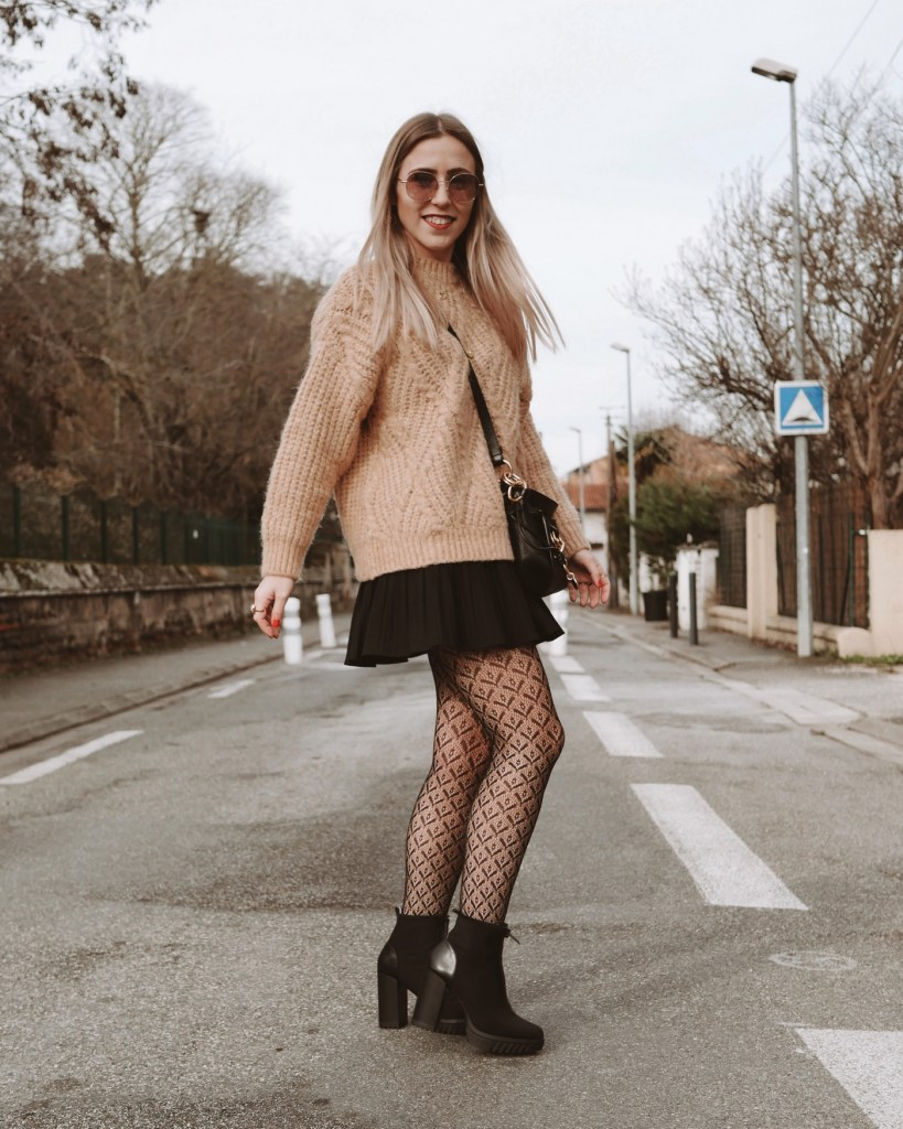 Look pull beige - La Petite Frenchie