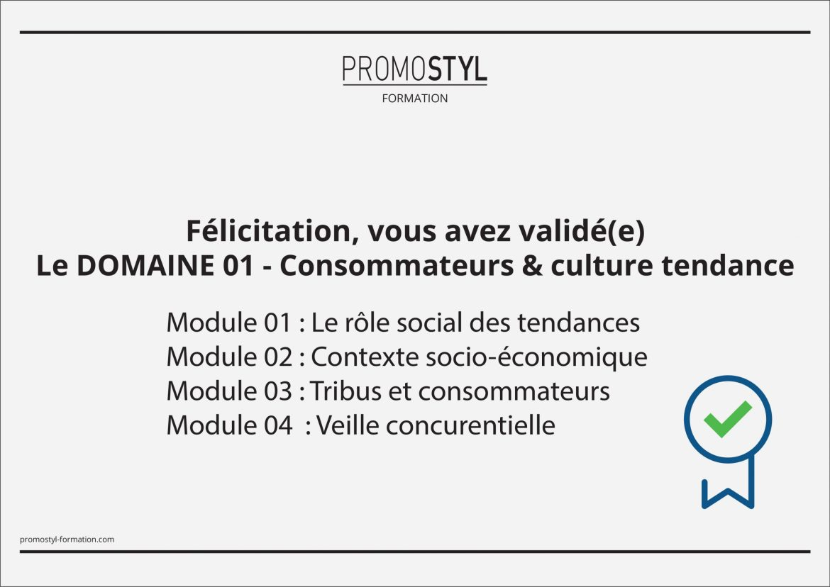 Formation e-learning Tendanceur Promostyl Institute - La Petite Frenchie