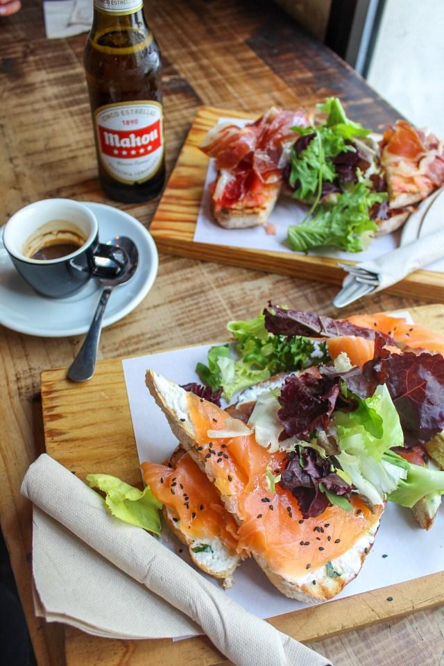 La Bicicleta coffee shop Madrid bonnes adresses