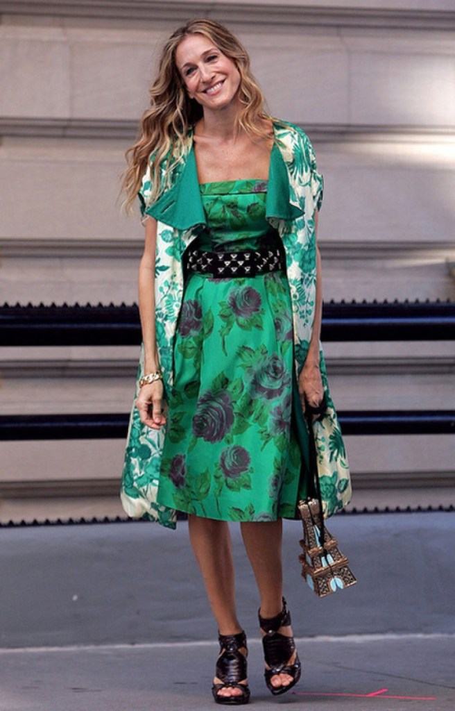 Carrie Bradshaw icône mode