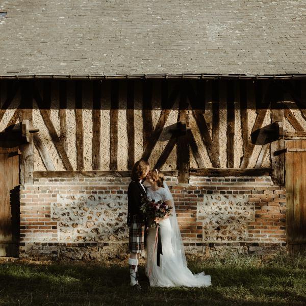 wedding planner normandie couple mariage bohème