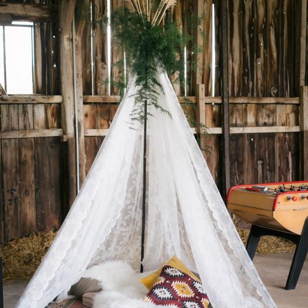 tipi décoration mariage