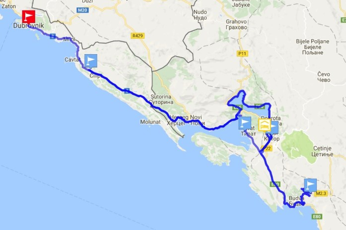Dubrovnik - Kotor Road trip