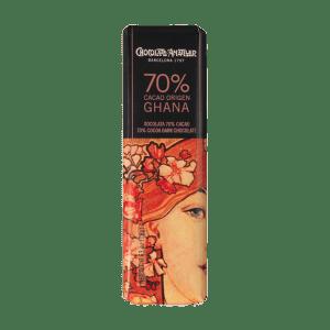 Amatller Chocolatina 70% Cacao Ghana 18g