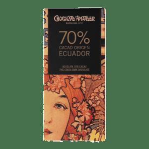 Amatller Tableta 70% Cacao Ecuador 70g