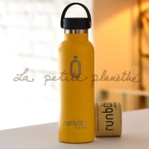 Botella Runbott Sport 600ml Mostaza