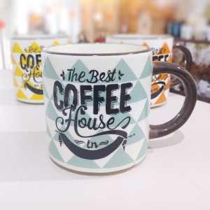Taza Coffe House Azul