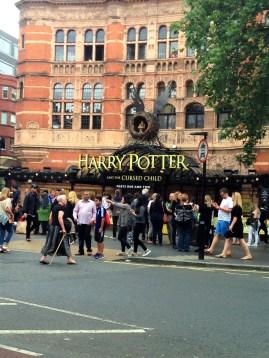 """Le fameux théâtre qui accueillera la pièce """"Harry Potter and the cursed child"""""""