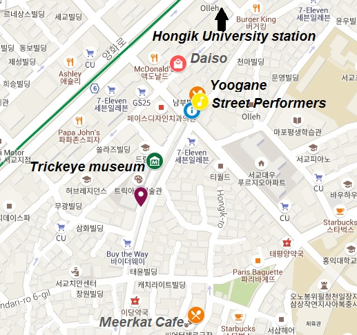 top 5 things to do in Hongdae