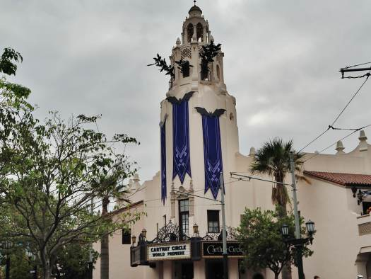 NEW Halloween Disneyland Carthay Circle's Bell Tower