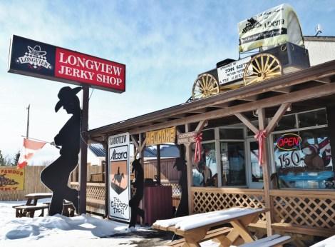 Alberta-small-Towns Longview jerky