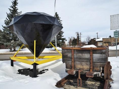 Alberta-small-Towns Black Diamond