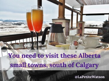 Alberta small towns you need to visit south of Calgary. The best steak in Alberta is in Longview