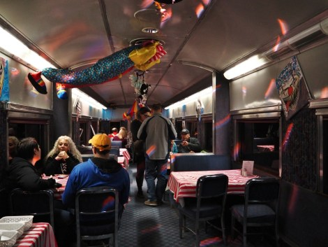 Alberta Train Experience La Petite Watson