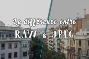 "Image illustrant l'article ""La différence entre le RAW et le JPEG"" - Apprendre la photo avec le blog La Photo clic par clic"