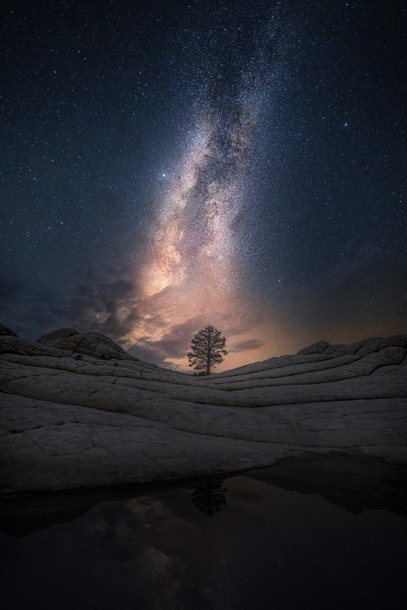 """Astrophotographie White Pocket - Image illustrant l'article """"Astrophotographie : comment photographier les étoiles ?"""" - Apprendre la photo avec le blog La Photo clic par clic"""