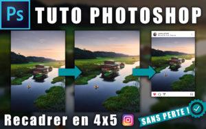 """Image illustrant l'article """"Comment recadrer une image SANS PERTE pour Instagram"""" - Apprendre la retouche photo avec La photo clic par clic"""