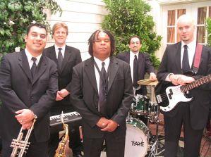 Musicians (including John Sawoski) on camera on the movie Rumor Has It.