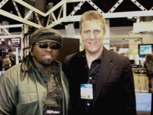 """NAMM 2008: Multi-platinum hit songwriter/drummer/producer and 2007 ASCAP Award winner John """"Cheese"""" Williams (photo courtesy of John """"Cheese"""" Williams)."""