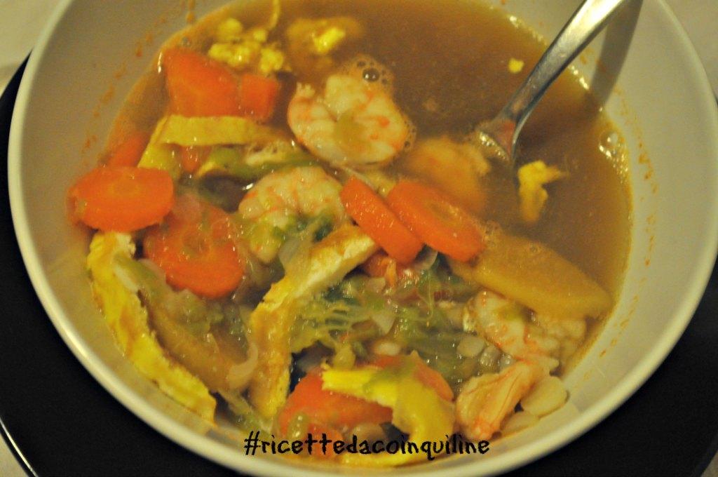 I sani venerdì: zuppa di gamberi