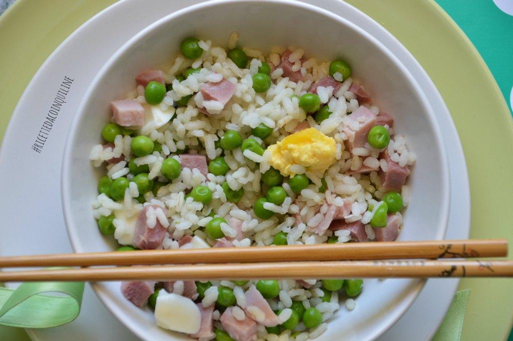 I menù fuori casa: insalata di riso Primavera