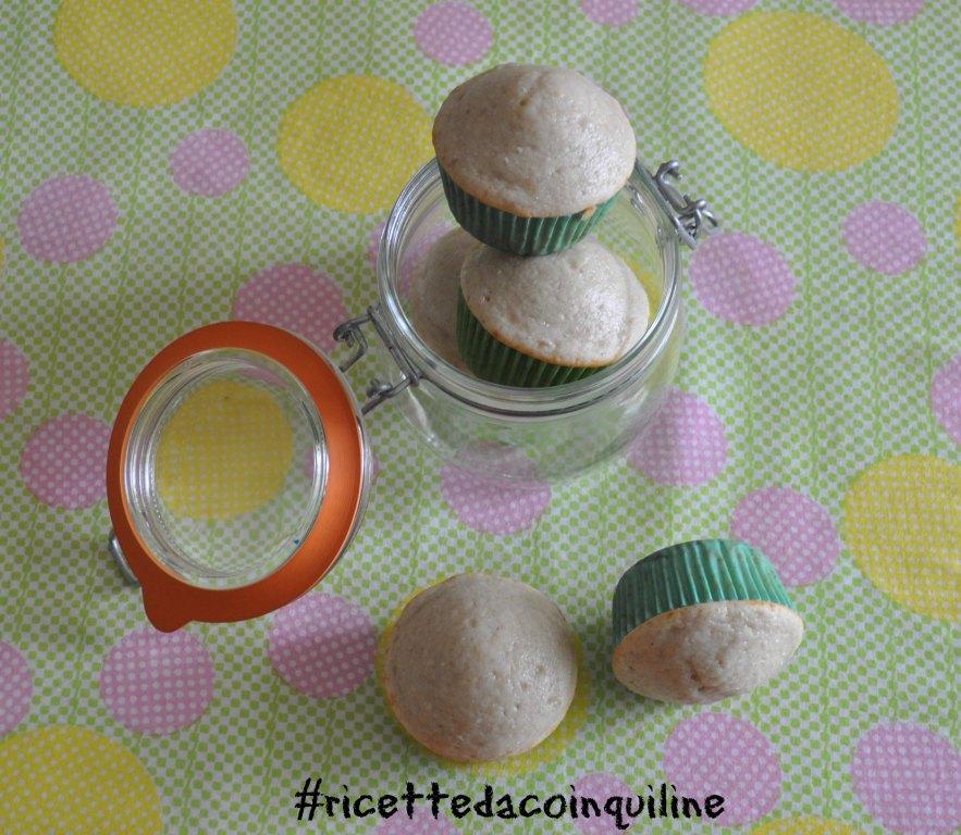Muffin con cuore di marmellata (vegan)