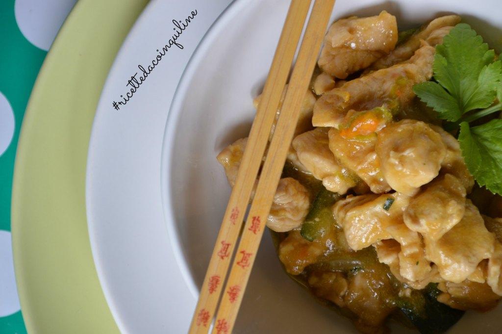I sani venerdì: pollo e zucchine all'orientale