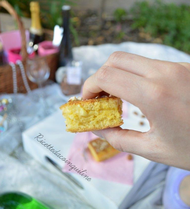 Voglia di picnic: merendine con crema alle mandorle