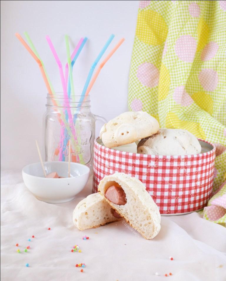 Panini maialini di Carnevale (senza glutine e senza lattosio)
