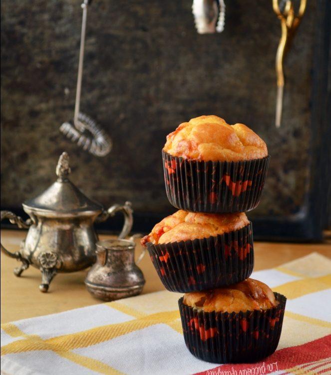 Muffin al pomodoro