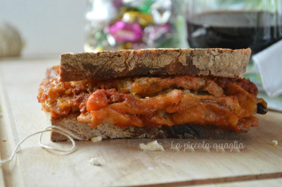 I menù fuori casa: panino con la parmigiana
