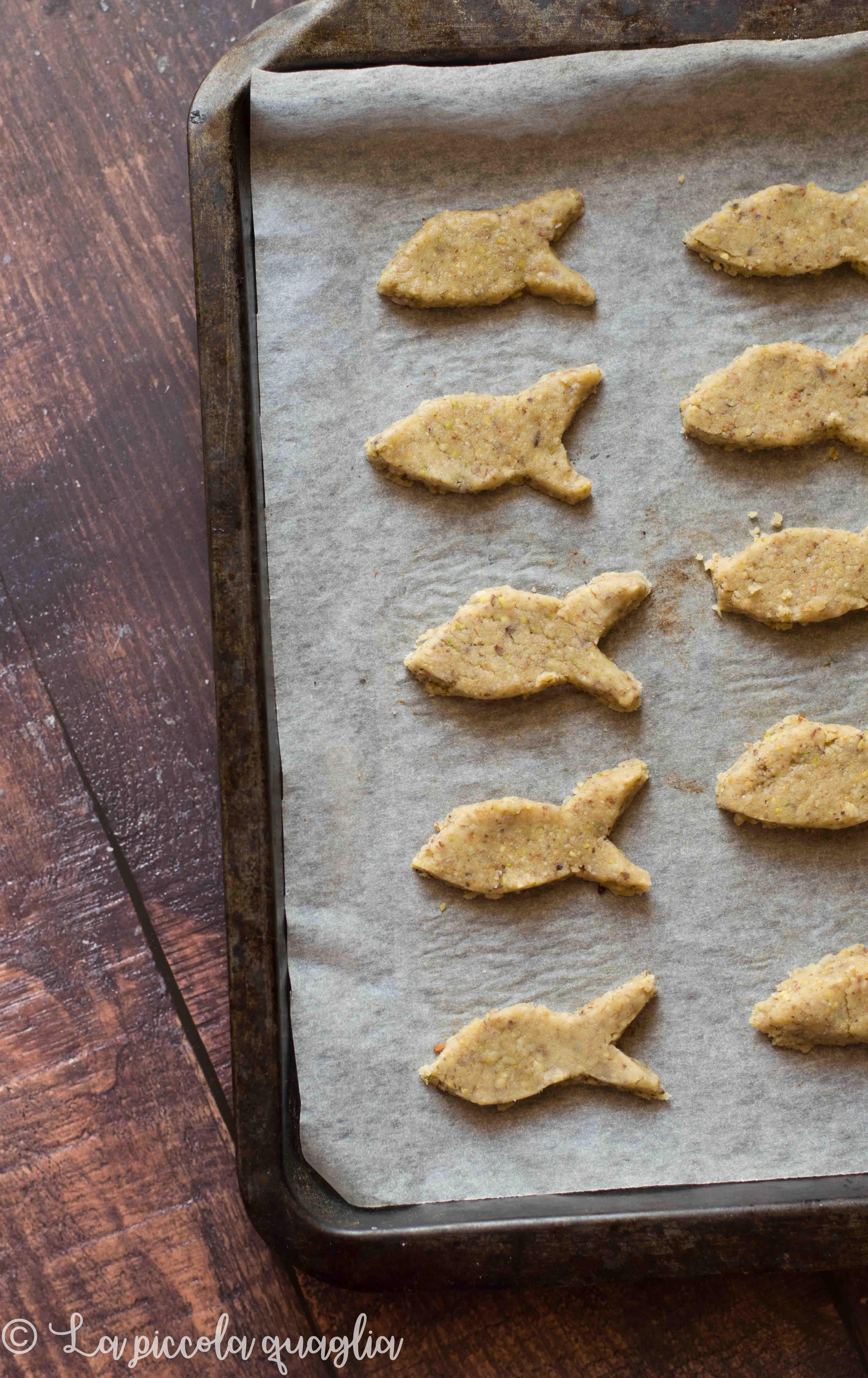 I menù fuori casa: biscotti pesce d'Aprile (senza glutine)
