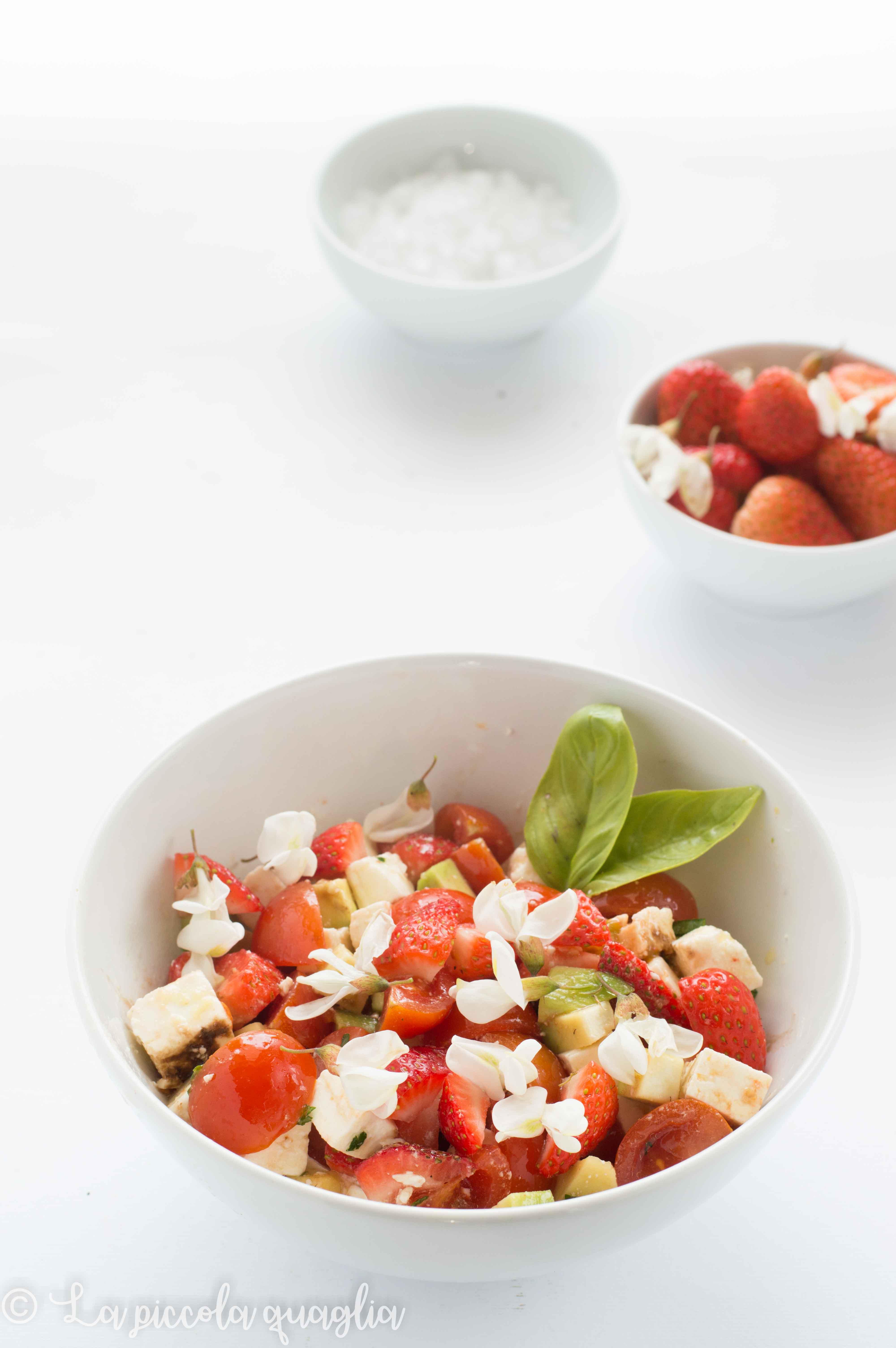 I sani venerdì: insalata di fragole