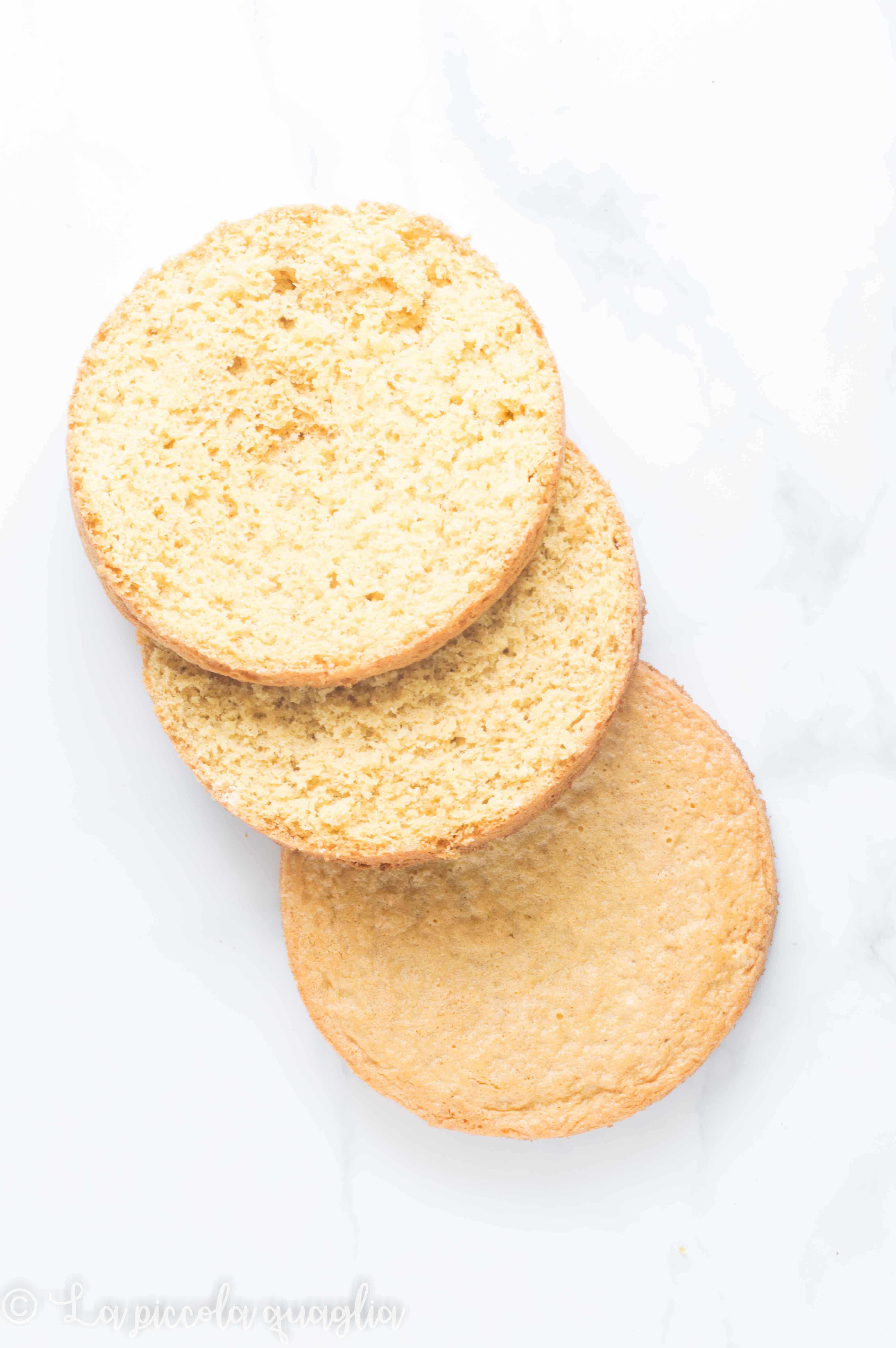 Pan di Spagna – Ricetta base