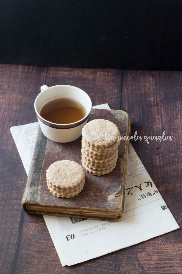 L'angolo del tè: biscotti integrali al tè verde (vegan)