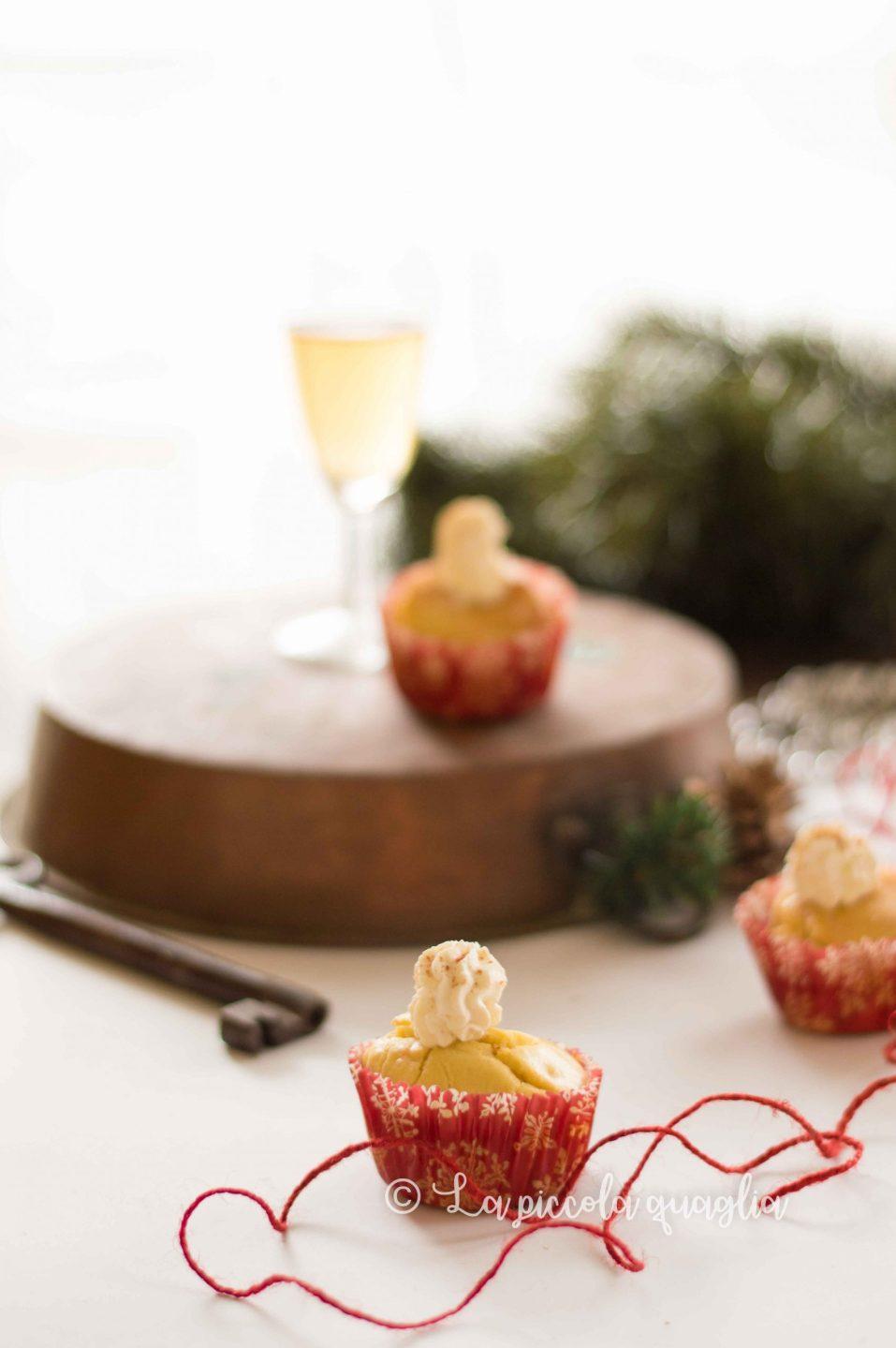 muffin al salmone con crema robiola