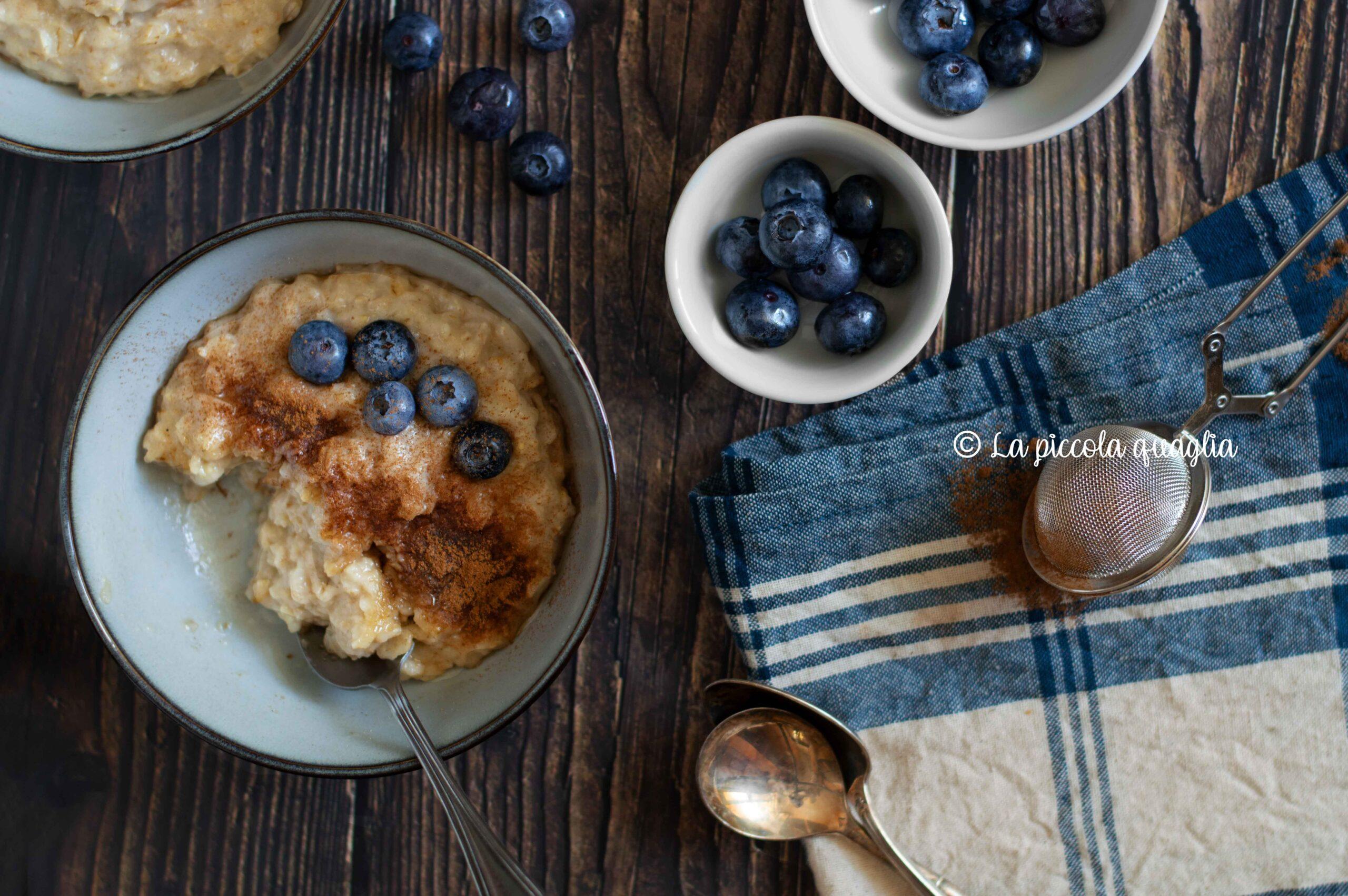 Porridge d'avena – Geek Chicken