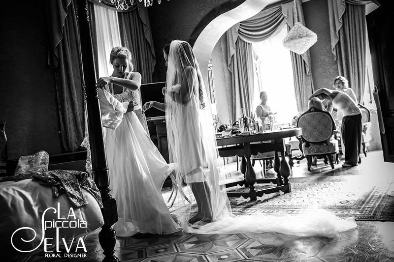 Matrimonio in stile Grande Gatsby Anni 20 a Villa Ortea Lago dOrta