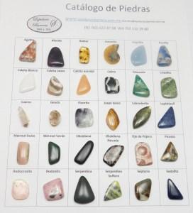 Cabujones de piedra natural, su precio varía dependiendo de la piedra que elija y de su peso.