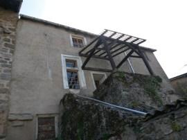 Auvent escalier 9