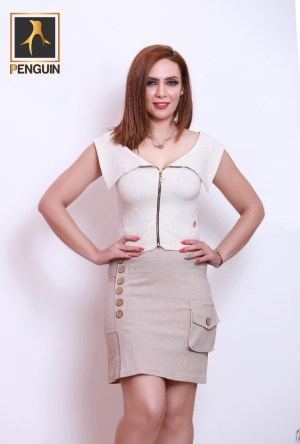 Code_[Mena667]_Cut_body_with_zipper_Bage_short_pocket
