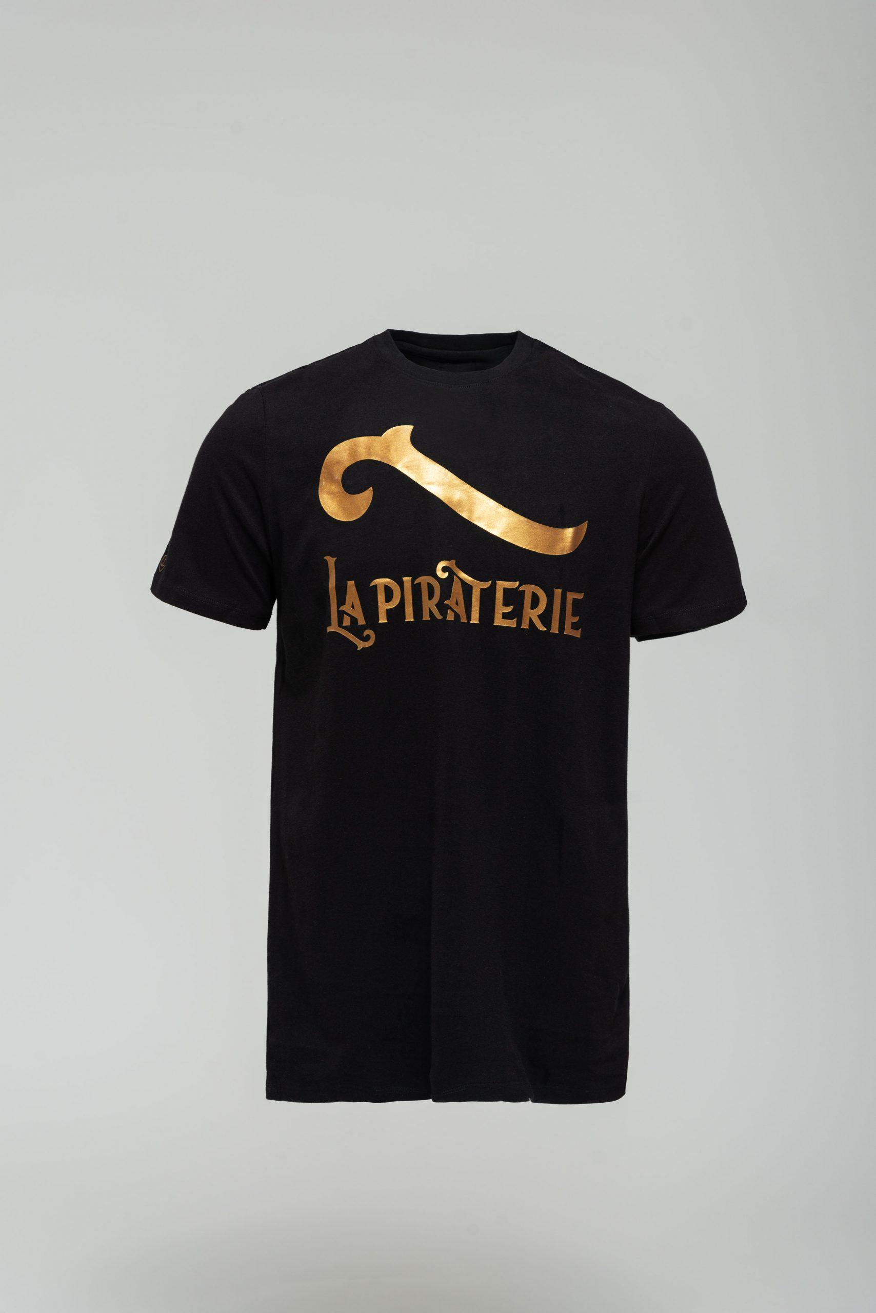 Tshirt La Piraterie Outlaw noir