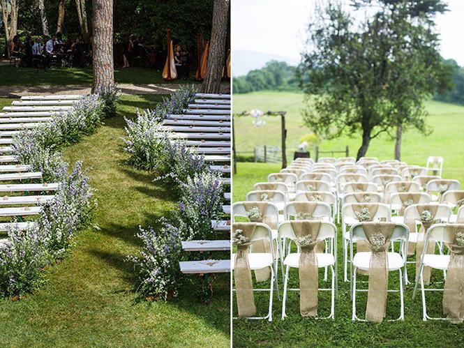 Ideias de Assentos e Cadeiras para Decorao de Casamento