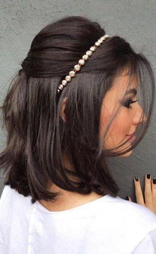 Penteados para cabelo curto - Acessórios de cabelo