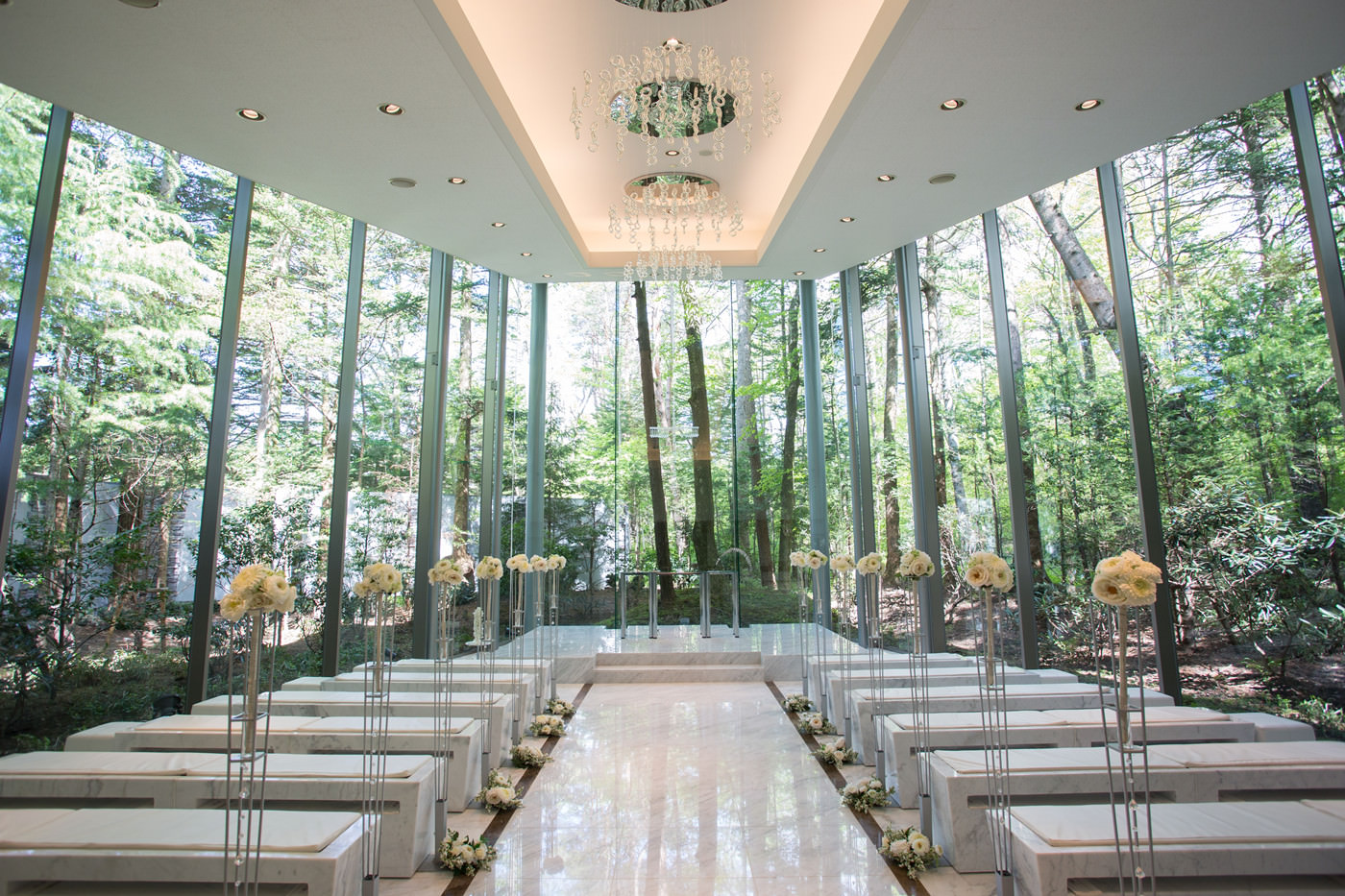 輕井澤 森之美教堂